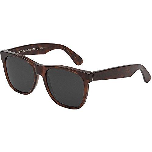 Retro Super Future Sonnenbrille Classic Havana, braun, L