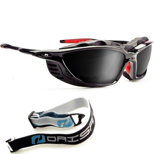 Daisan Alpin Gletscherbrille Sportbrille mit Band