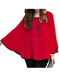 Afaqui Kaftan Georgette Top for Women, Loose Fit Round Neck Poncho for Girls