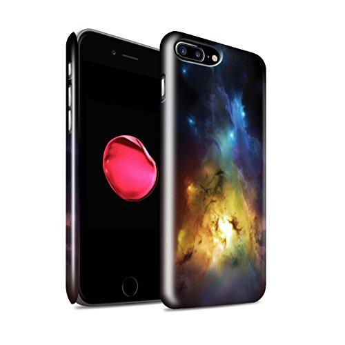Offiziell Chris Cold Hülle / Glanz Snap-On Case für Apple iPhone 8 Plus / Planet/Mond Muster / Fremden Welt Kosmos Kollektion Arcularius Nebel