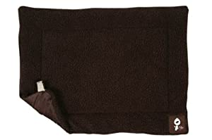 Yap Roventa Cage and Carrier Mat, Choc Faux Lambswool