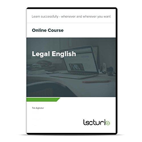 Online-Videokurs Legal English von Tim Aghotor