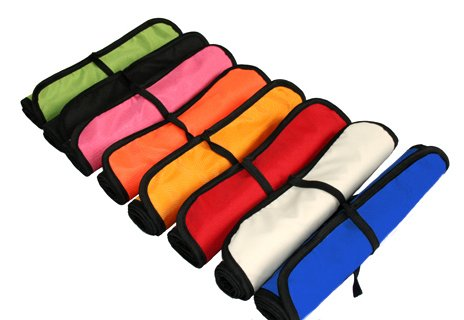 TRAVEL BABY CHANGING MAT PORTABLE FOLDING WATERPROOF 8 COLOURS TO CHOOSE NEW (Black) Test