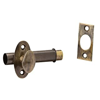 Ives by Schlage S48B5 Mortise Door Bolt, Pack Of 2