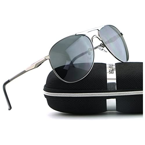 HDCRAFTER Aviator UV400 Mens Sunglasses