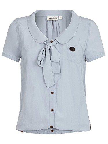 Damen T-Shirt Naketano Kurz Kacken III T-Shirt cloudy blue