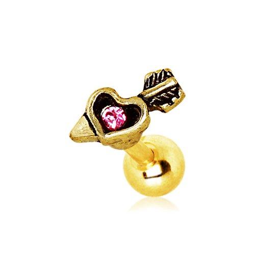 rosa-rotonda-del-cristallo-placcato-freccia-oro-e-cuore-cupido-12-millimetri-x-6mm-chirurgica-dellor