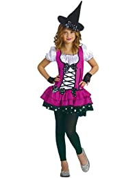 WMU 1171136 Small 4-6 Sugar N Spice Witch Girls Costumes