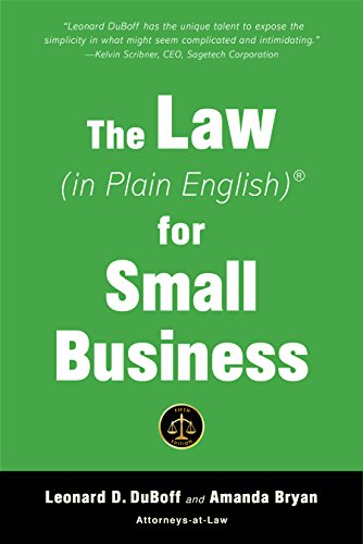 The Law (in Plain English) for Small Business (Fifth Edition) (English Edition)