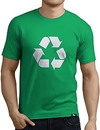Tuning Camisetas - Camiseta divertida para Hombre - Modelo reciclaje