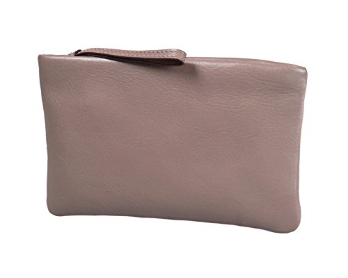 SAGEBROWN Relaxed Clutch Bag Taupe