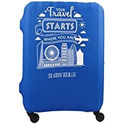 Salvador Bachiller - Funda Universal Starts Compl Viaj Lgz1701 Azul L