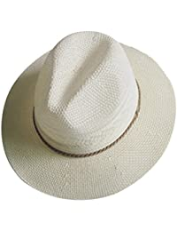 Menschwear mujer Summer Hats Cotton Linen Woven Wide Brim Summer Beach Hat Sun Hats