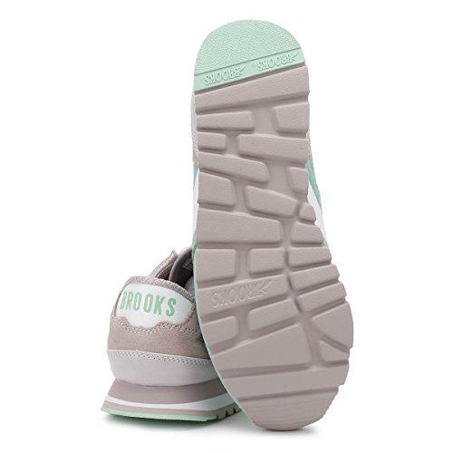 Brooks Donna Cloud Grigio/Cabbage Gelateria Chariot Sneaker Cloud Grigio/Cabbage