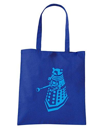 T-Shirtshock - Borsa Shopping FUN1264 dr Blu Royal