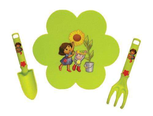 nickelodeon-dora-combo-pack-with-kneeling-pad-trowel-cultivator-de7p3-size-kids