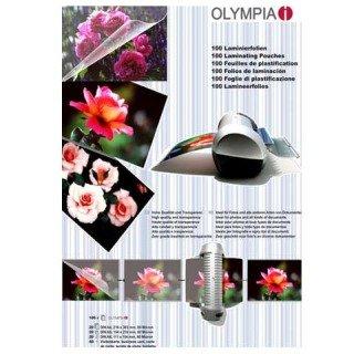 100 Stk. OLYMPIA Laminierfolien Set A4, A5, A6 und Visitenkartengrösse