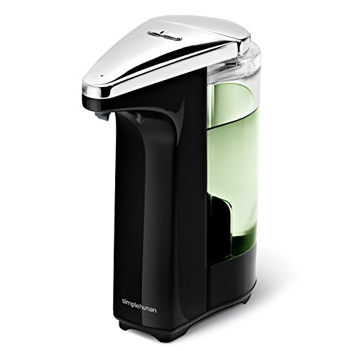 simplehuman Compact Sensor Pump with Soap Sample, 237 ml - Black