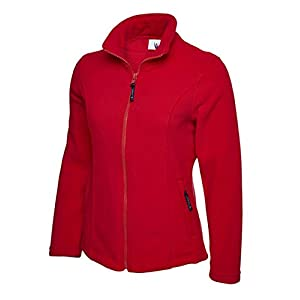 411bZtNOIzL. SS300  - UC607 - Red - Large - Ladies Classic Full Zip Fleece Jacket
