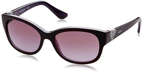 Vogue Gradient Women'S Sunglasses - (0Vo5034Sb23768H56|56. 0|Violet Gradient) image