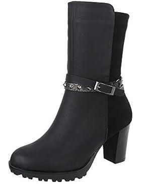 Scarpe da donna Stivali tacco