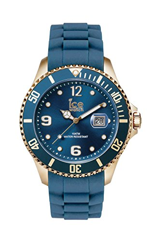 Ice-Watch - ICE style Oxford blue - Montre bleue pour homme avec bracelet en silicone - 013756 (Large)