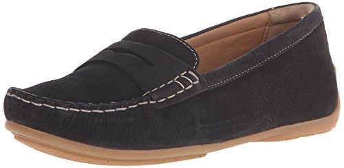 Clarks Doraville Nest Slip-on Mocassins Black nubuck