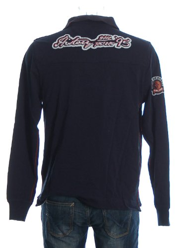 Arqueonautas Herren Poloshirt Polo Shirt Navy