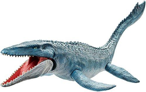 Mattel fng24–Jurassic World mosasa Urus, con Dino piel auténtica