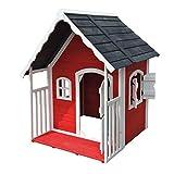 Spielhaus Villa für Kinder Holz Veranda Kinderspielhaus Gartenhaus Haus Garten