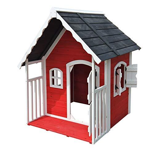Spielhaus Villa aus Holz (Wiltec)