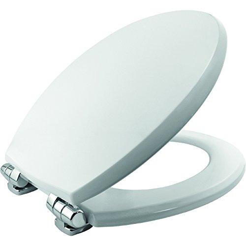 Denver Tite Universal WC-Sitz mit Absenkautomatik, weiß - Wc-scharnier Bemis