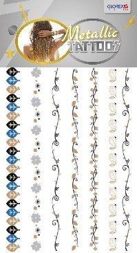 Métallique Tatouage 145x205 testé dérmatologiquement