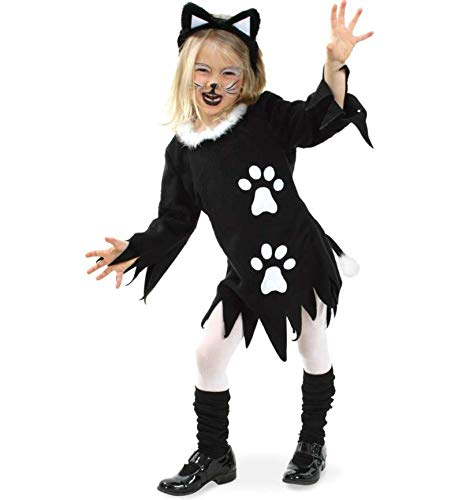 KarnevalsTeufel Kinderkostüm Kätzchen, Kätzchen-Kostüm Kinder Katze