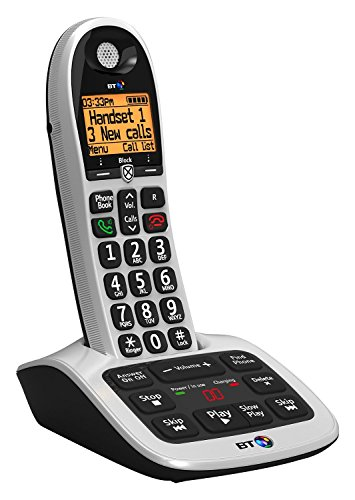 BT 4600 Big Button Advanced Call Blocker Home Phone with Answer Machine (Certified Refurbished)