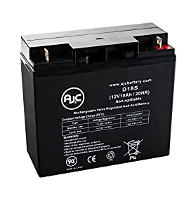 Universal Power UB12180 12V 18Ah Wheelchair Battery - This is an AJC Brand® Replacement