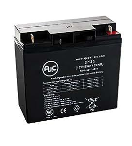 Solar Booster Pac ES1217 Jump Starter 12V 18Ah Jump Starter Battery - This is an AJC Brand Replacement