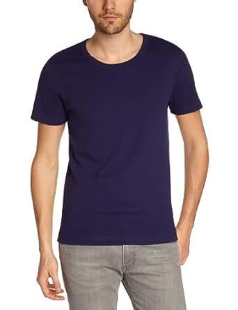Petit Bateau T-Shirt à Manches Courtes 100% Coton - Homme - Marine (Submarine) - FR: Small (Taille fabricant: S/12 ans)