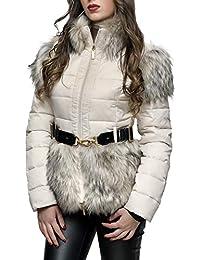 Amazon.it  Cintura - Elisabetta Franchi   Giacche e cappotti   Donna ... 85d2ec53ab70