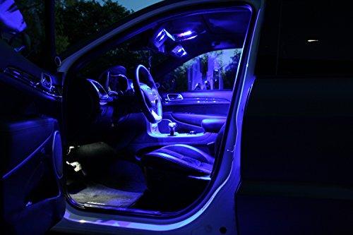 LED-Mafia Innenraumbeleuchtung set 5 LED`s blau 2332BZ