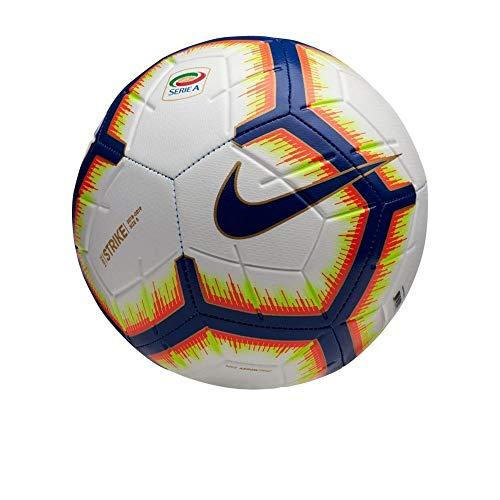 Pallone Nike Serie A Strike Replica Size 5 Bianco Blu Campionato 2018/2019 SC3376-100 Ufficiale Pallone Serie A 2019 Pallone Da Calcio Calcetto Cuoio Tornei