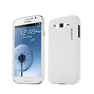 Capdase Karapace Jacket Touch Back Case for Samsung Galaxy Grand 2 SM-G7102,7106 - White (KPSGG7106-T102)