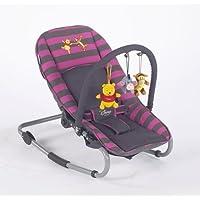 Prokids 8390gp - Wippe Rocker Lux, Winnie Pooh Poolicious Pink/Grau (Pink/Dingy)