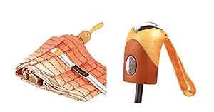 Ombrello Pieghevole - Antivento - Solido - Automatico Apri e Chiudi - Di Alta Ingegneria Per Combattere I Danni Causati Da Ribaltamento - Compatto Piccolo Mini Viaggio (Blu Marino)