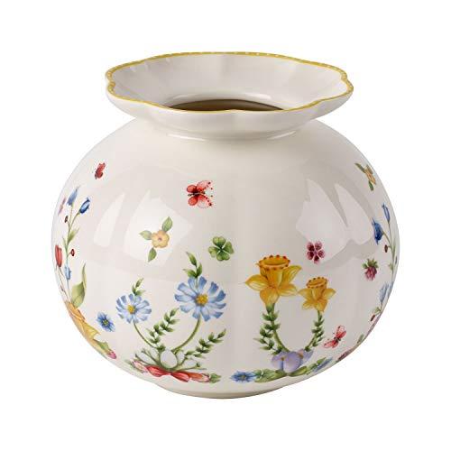 Villeroy & Boch Spring Awakening Große Vase, Porzellan, Gelb/Grün/Rot - Villeroy Boch Vasen