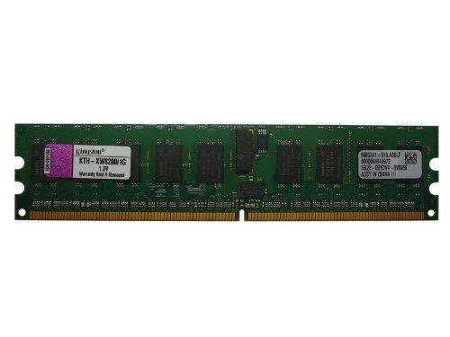 Kingston kth-xw8200/1G HP EQUIV. DY655A 1GB DDR2PC2–3200ECC Registered RAM (Pc2 Ecc Registered 3200)