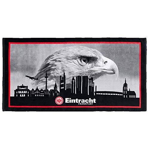 Eintracht Frankfurt Skyline Strandtuch 76x150cm (one Size, Multi)
