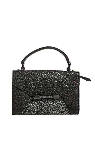 Diesel Damen Tasche Handtasche INDUSTRIAL PHOLDERR - p, Farbe: Schwarz, Größe: One Size (Damen Diesel Handtaschen)