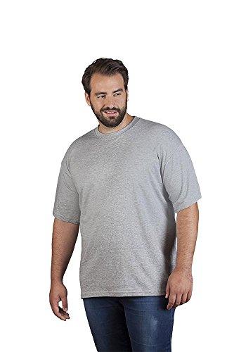 Premium T-Shirt Plus Size Herren, 4XL, Sportgrau