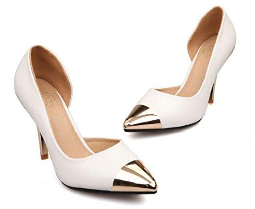 Chaussures à talons compensés YCMDM white